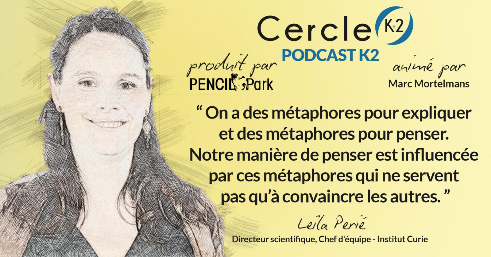 [Podcast K2] Episode 05 - Leïla Perié - Cercle K2