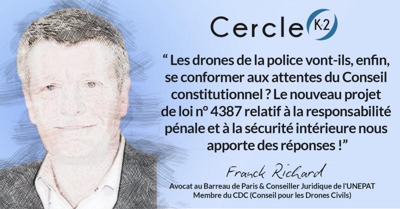 Les drones de la police vont-ils, enfin, se conformer aux attentes du Conseil constitutionnel ? Le nouveau projet de loi n° 4387 relatif à la responsabilité pénale et à la sécurité intérieure nous apporte des réponses !