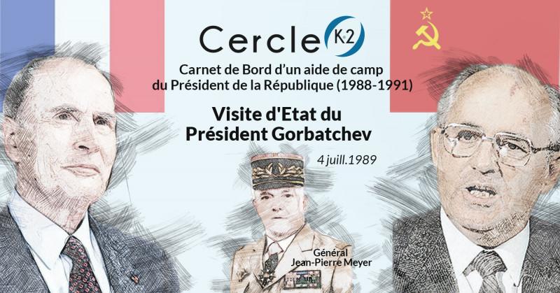 Visite d'État du Président Gorbatchev - Cercle K2