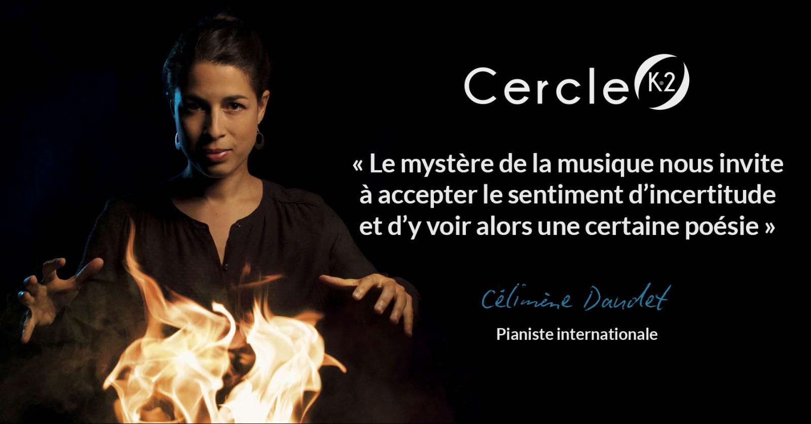 """Entretien avec Célimène Daudet pour la sortie de son album """"Messe Noire"""" - Cercle K2"""