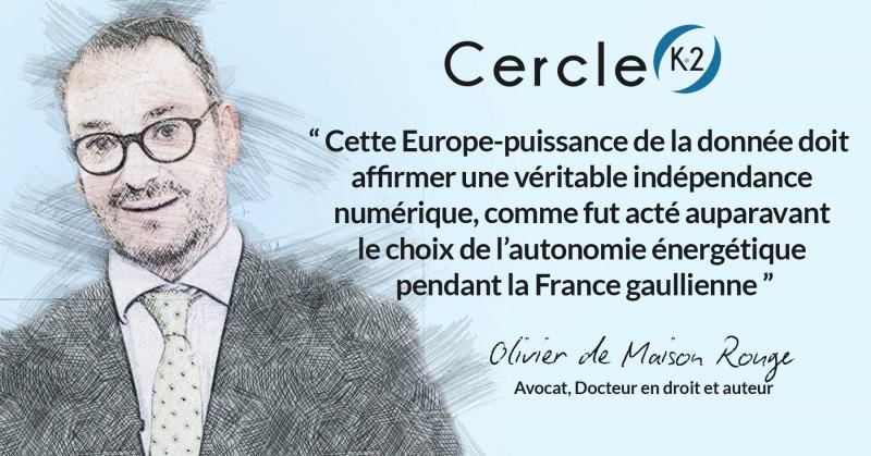 Pour que l'Europe ne soit pas une colonie numérique - La souveraineté numérique doit se traduire en actes - Cercle K2