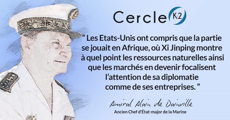 Tribune K2 de l'Amiral Alain de Dainville - Cercle K2