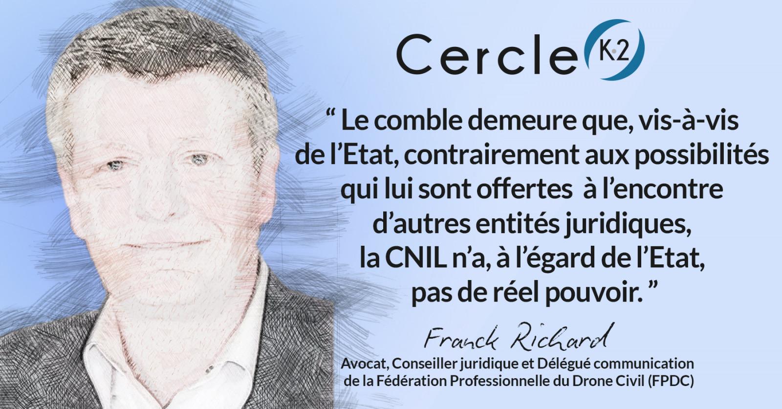 Que faut-il penser de l'interdiction faite, le 14/01/2021, par la CNIL, au Ministère de l'Intérieur, d'utiliser des drones capteurs d'images ? - Cercle K2