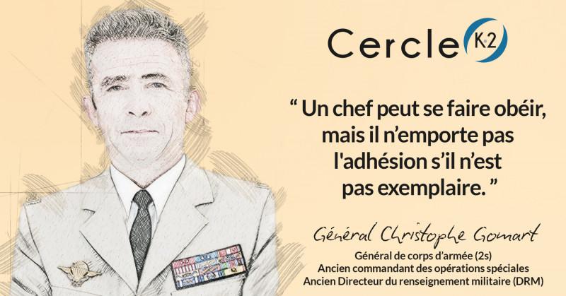 Entretien avec le Général Christophe Gomart - Cercle K2