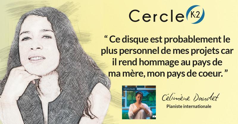 """Entretien avec Célimène Daudet pour la sortie de son album """"Haïti mon amour"""" - Cercle K2"""