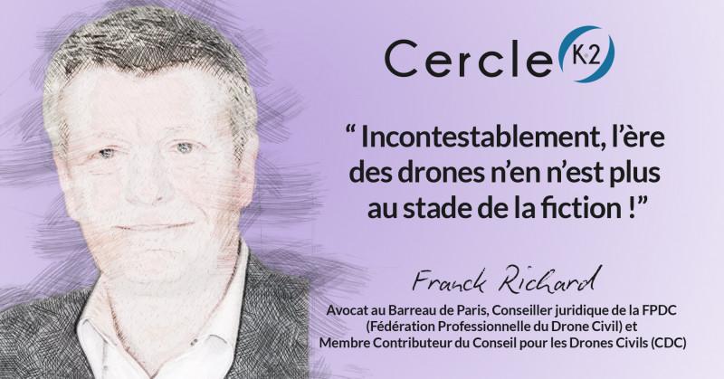 Quand les drones de surveillance deviennent des outils de préservation des libertés ! - Cercle K2